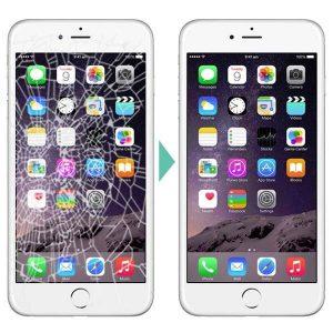 iphone 6 ekran ön cam değişimi
